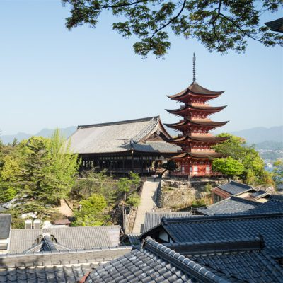 A three-day voyage through western Setouchi to experience the history and spirituality of local islands