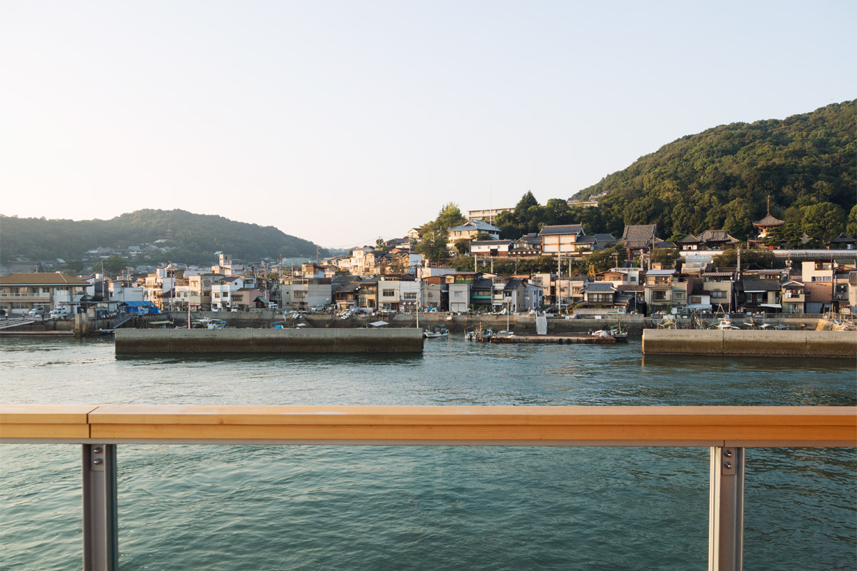 A four-day voyage to enjoy industrial culture and contemporary art in eastern Setouchi