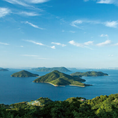 A three-day voyage through central Setouchi to enjoy the dynamic currents and scenery of the Inland Sea
