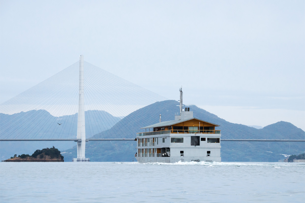 A three-day voyage that drifts between the islands of the Shimanami Kaido