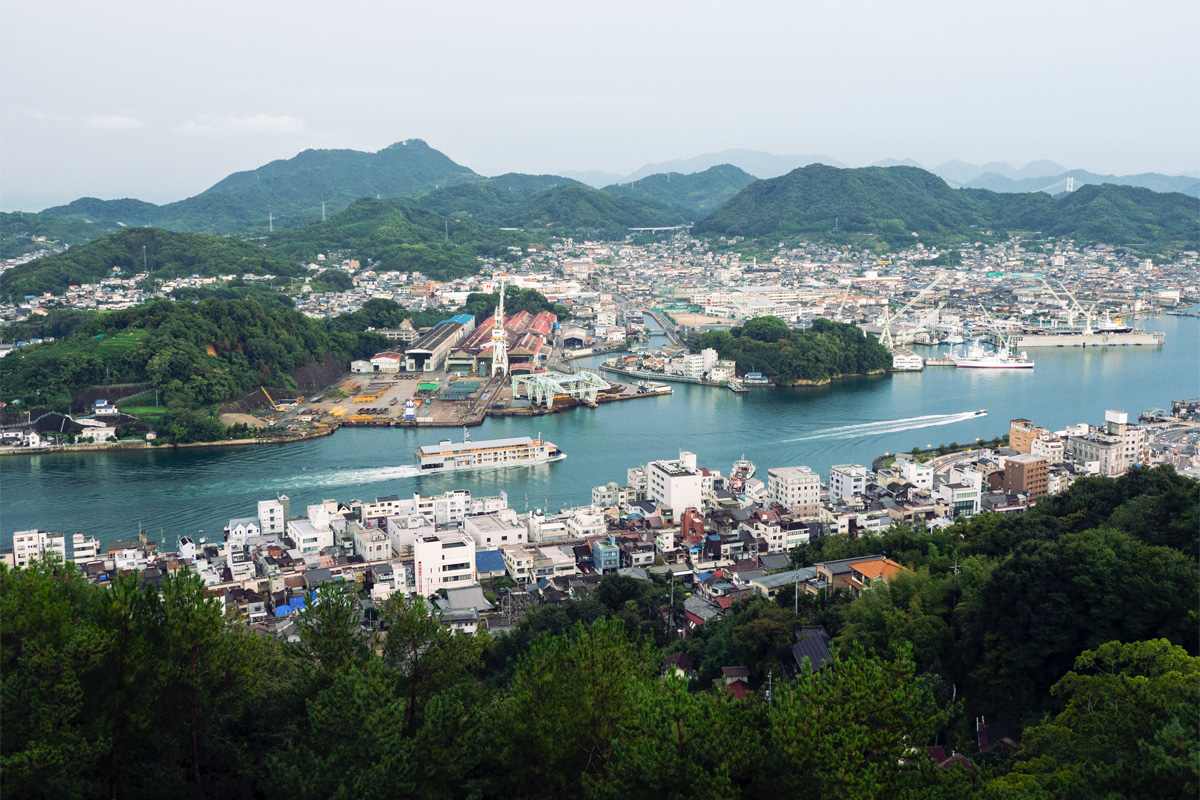 A four-day voyage to enjoy onboard time and western Setouchi
