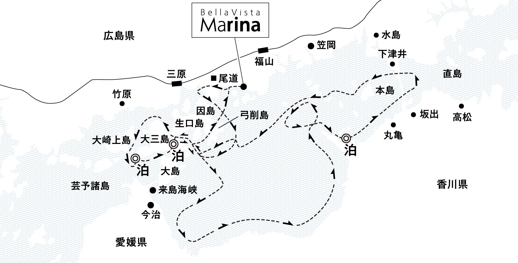 漂泊する旅の本質を味わう 伯方島沖・詫間湾・大三島沖錨泊4日間